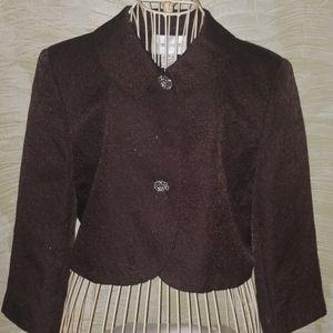 Victor Costa brown evening jacket